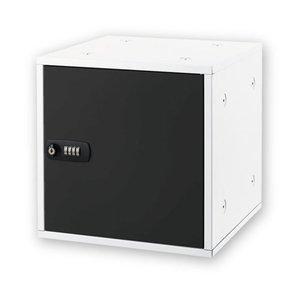 高価値セリー アスカ ブラック 組立式収納ボックス SB500BK ブラック SB500BK【】 全面スチールで鍵付。スタッキング可能な収納ボックス【】。, MADE IN TOKUSHIMA SHOP:bfc475da --- frmksale.biz