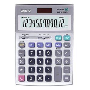 (税込) カシオ 電卓 DS-20WK【9K0686 電卓】 送料無料 DS-20WK カシオ!, オオトウマチ:97fe0554 --- abizad.eu.org