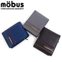 2665fe53886b 【郵 メール便 】 モーブス/MOBUS 財布 メンズ 二つ折り 小銭入れ付き 3color MOS309.
