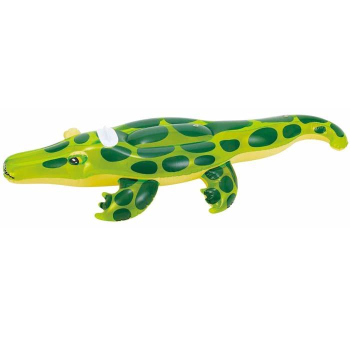 浮動輪浮子鱷魚DU 16011浮環176 x 80 cm Ukawa水上游泳池戶外裝備休閒裝備男士女士