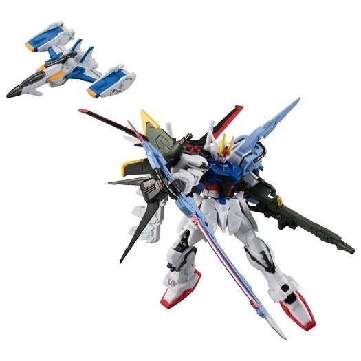 (予約)機動戦士ガンダムGフレームEX03パーフェクトストライクガンダム&スカイグラスパー(食玩)2021年5月発売予定
