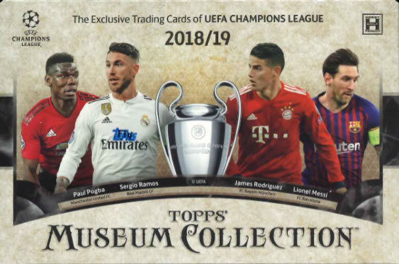 (予約)2018/19TOPPSUEFACHAMPIONSLEAGUEMUSEUMCOLLECTION(4月中旬発売予定)