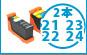 DELL 21,22,23,24 激安互換インク