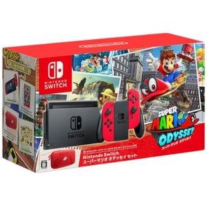 Nintendo Switch スーパーマリオ オデッセイセット【】[☆4]
