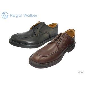 【今日の超目玉】 リーガル ウォーカー REGAL WALKER 102W 102WAH 幅広3EウィズのUチップ インソールは足のアーチを支えるパッド2種類付 靴 正規品 メンズ, ワチチョウ 5ce6905e