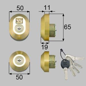 公式の  トステム(LIXIL) ドア錠セット(MIWA DNシリンダー)楕円 D5GZ3001 【8,800円(税込)以上お買い上げで送料無料!】, トライテック 通販部:a0dade32 --- e-arabic.com