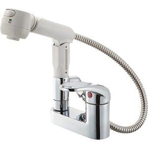 【お1人様1点限り】 三栄水栓(SAN-EI) U-MIX シングルスプレー混合栓(洗髪用) 寒冷地用 K37100K-13, ワイン紀行 df39f56c